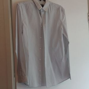 Long sleeved, button down dress shirt